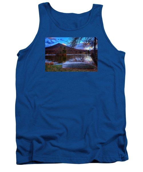 Sunset At Abbott Lake Tank Top by Steve Hurt