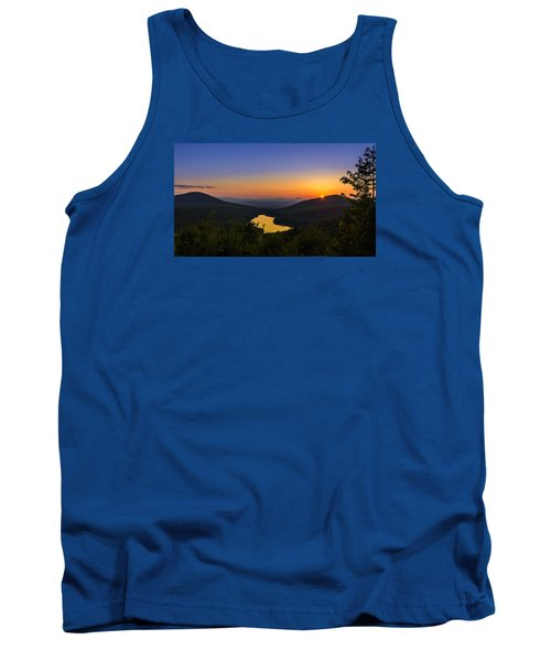 Sunset At Owls Head Tank Top