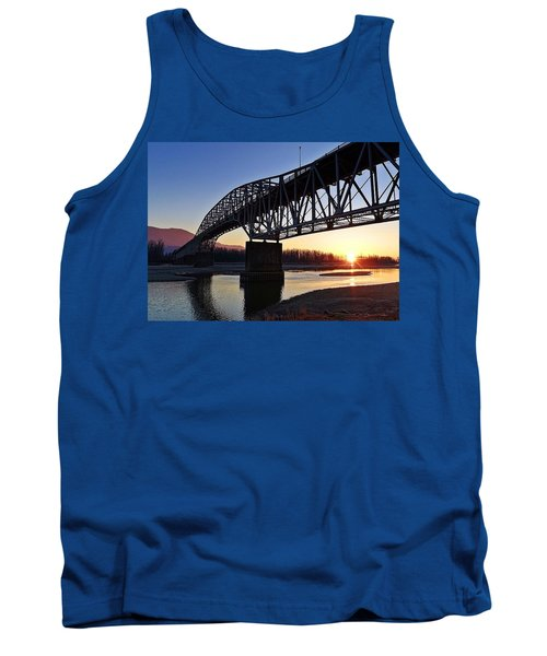 Fraser River, Bc  Tank Top by Heather Vopni