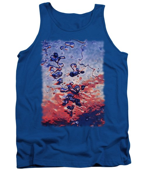 Tank Top featuring the photograph Sunset Flakes by Sami Tiainen