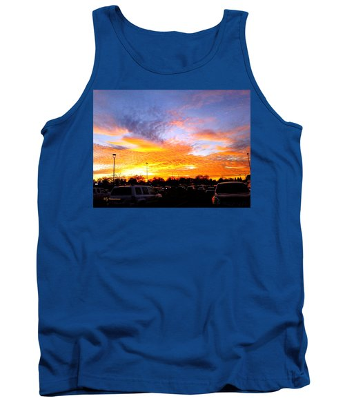 Sunset Forecast Tank Top
