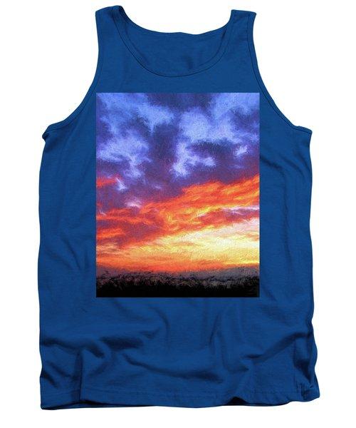 Sunset In Carolina Tank Top