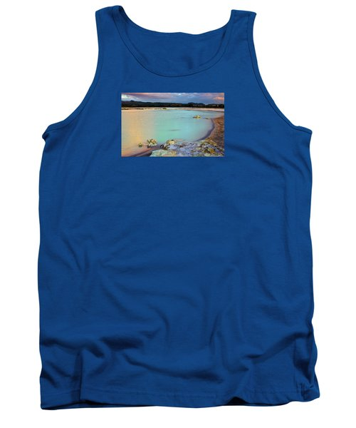 Sunset In Rotorua New Zealand Tank Top
