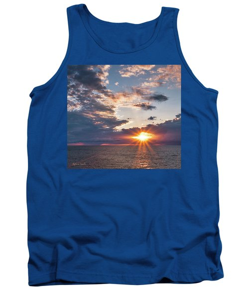 Sunset In The Clouds Tank Top