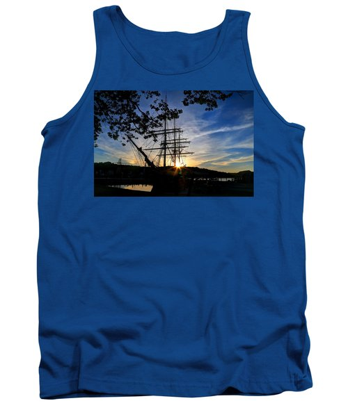 Sunset On The Whalers Tank Top