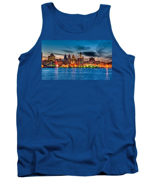 Sunset Over Philadelphia Tank Top