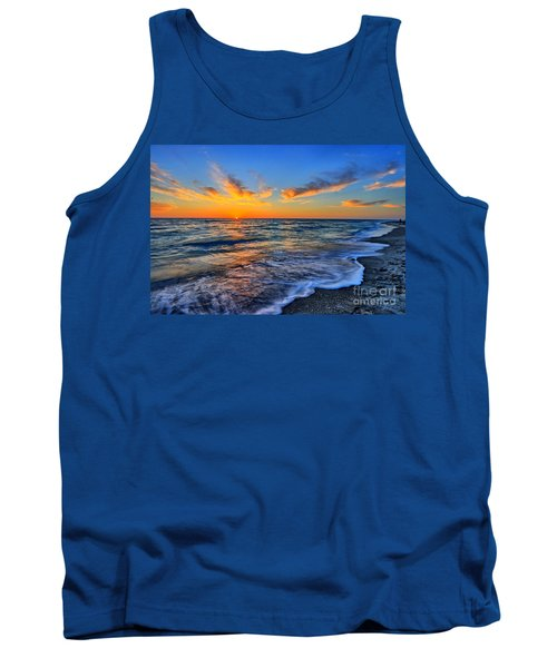 Tank Top featuring the photograph Sunshine Skies by Scott Mahon