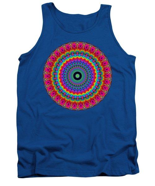 Super Rainbow Mandala Tank Top