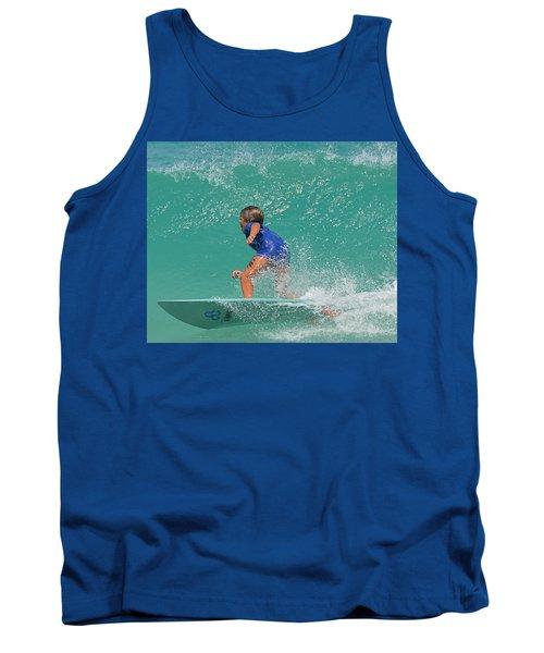 Surfer Boy Tank Top by  Newwwman