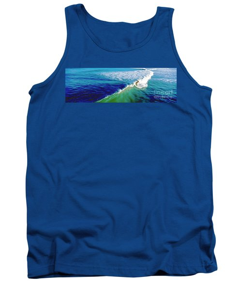 Surfs Up Daytona Beach Tank Top