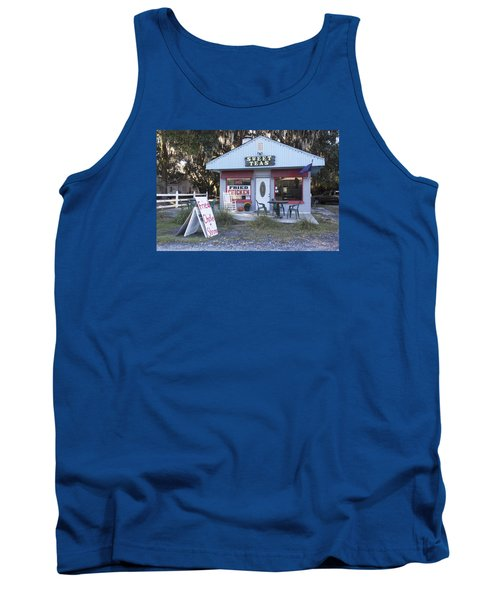 Sweet Teas And Fried Chicken Tank Top by Suzanne Gaff