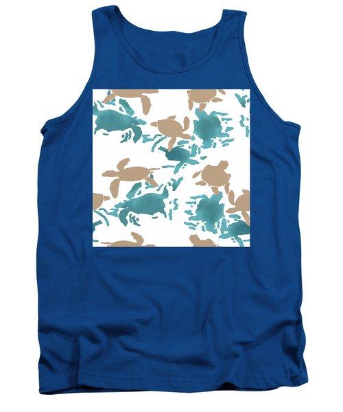 Swimming Turtles Tank Top