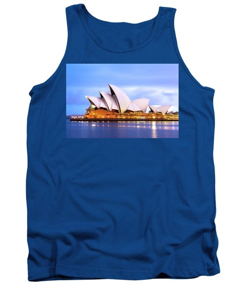 Sydney Opera House At Dawn Tank Top