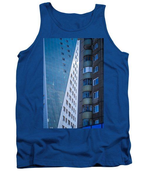 Tank Top featuring the photograph Synergy Between Old And New Apartments by John Williams