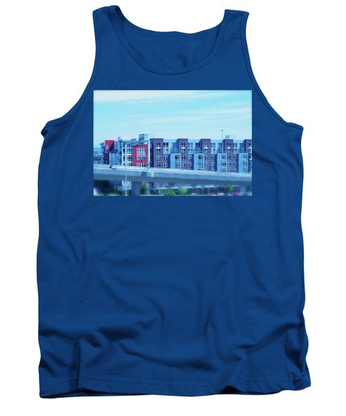 Tank Top featuring the photograph Tacoma Blues - Cityscape Art Print by Jane Eleanor Nicholas