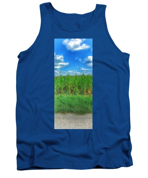Tall Corn Tank Top by Jame Hayes