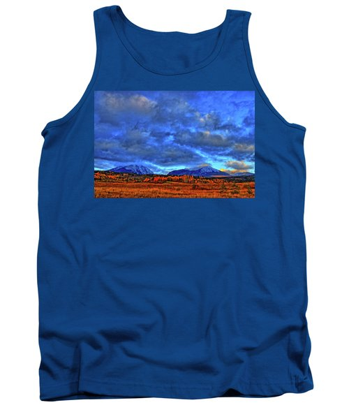 Tank Top featuring the photograph Ten Mile Of Fall Colors by Scott Mahon