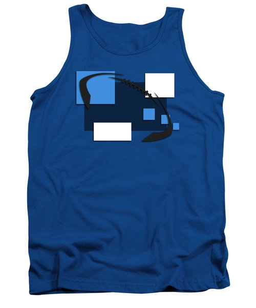 Tennessee Titans Abstract Shirt Tank Top by Joe Hamilton