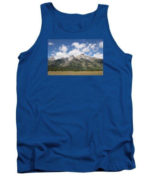 Teton View Tank Top by Diane Bohna