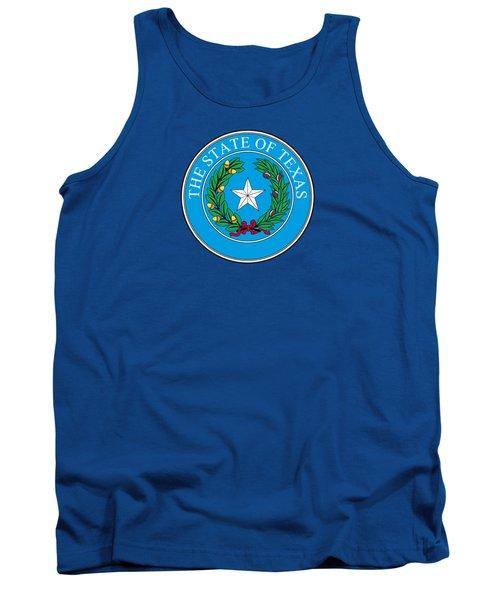 Texas State Seal Tank Top