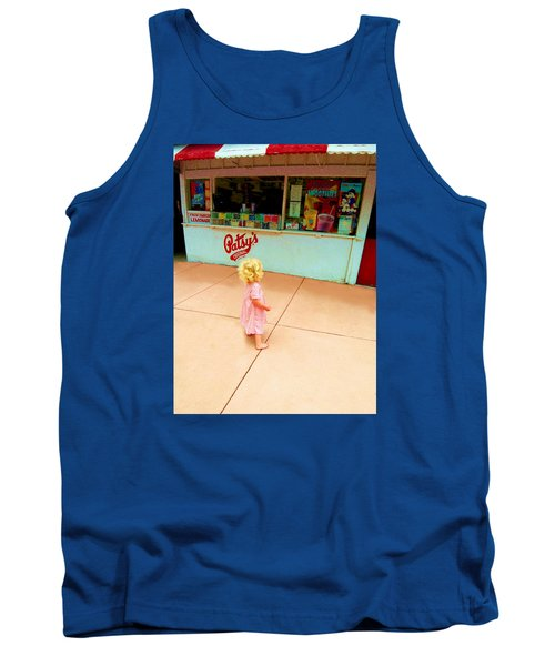 Tank Top featuring the photograph The Candy Store by Lanita Williams