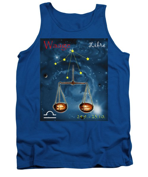 The Balance Of The Universe Tank Top