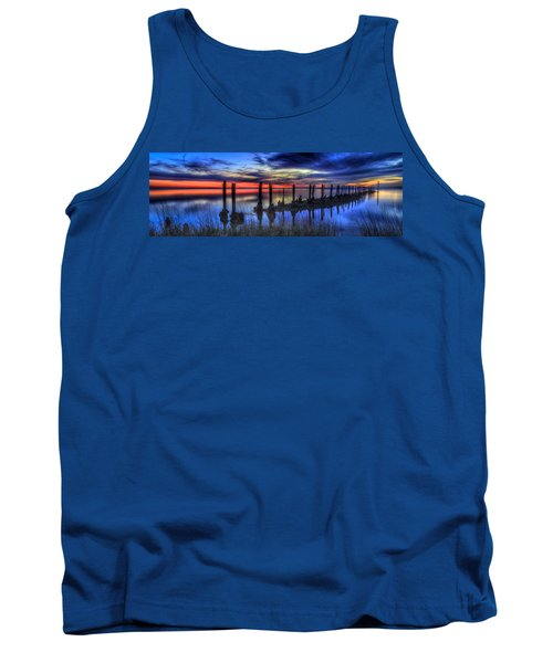 The Blue Hour Comes To St. Marks #2 Tank Top