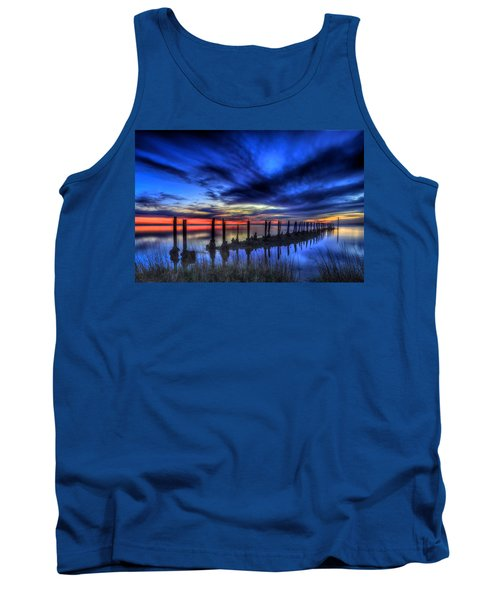 The Blue Hour Comes To St. Marks #1 Tank Top