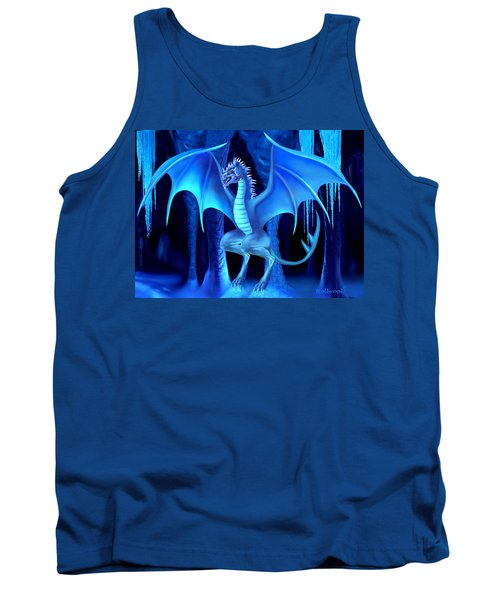 The Blue Ice Dragon Tank Top