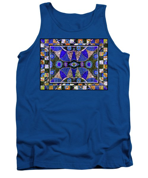 The Blue Vibrations Tank Top