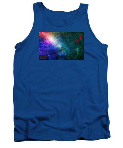The Butterfly Effect Tank Top by Kenneth Armand Johnson