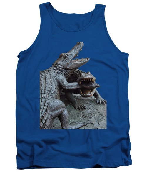 The Chomp Transparent For Customization Tank Top