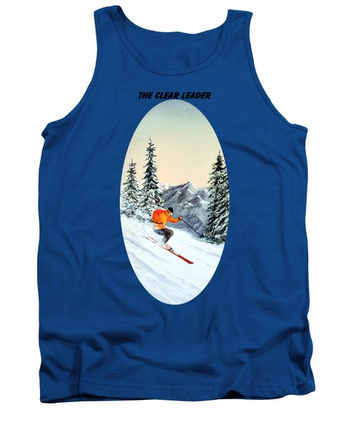 The Clear Leader Skiing Tank Top