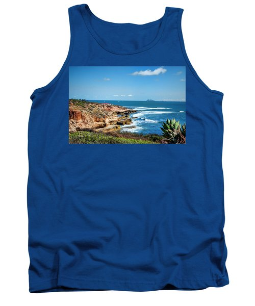 The Cliffs Of Point Loma Tank Top
