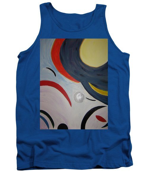 The Cosmos Tank Top by Barbara Yearty