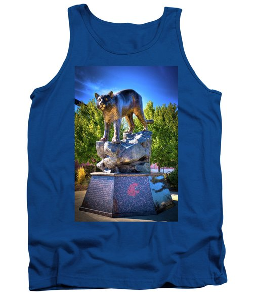 The Cougar Pride Sculpture Tank Top