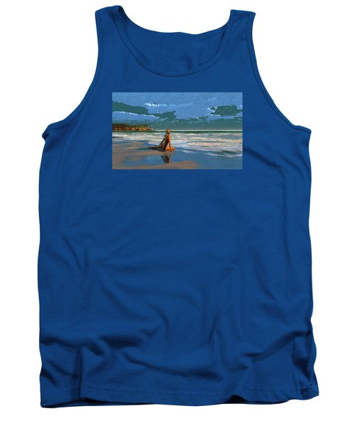 The Courtship Of Sand Tank Top