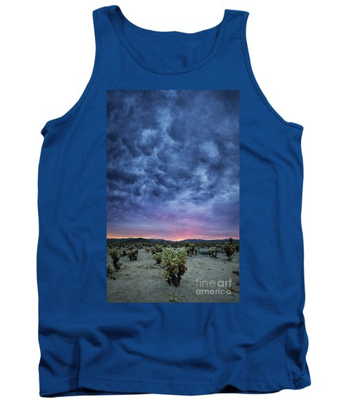 The Dark Sunset 2 Tank Top