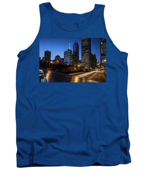 The East Side Skyline Of Chicago  Tank Top