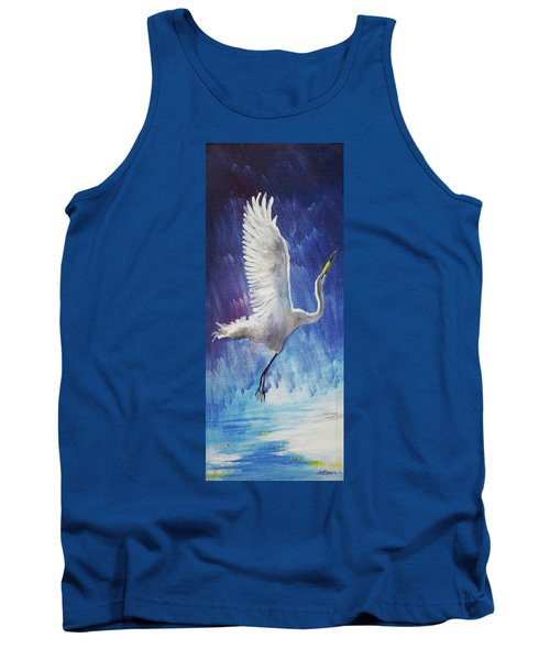 The Egret Tank Top