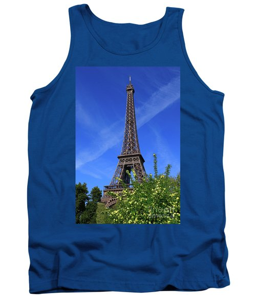 The Eiffel Tower In Spring Tank Top
