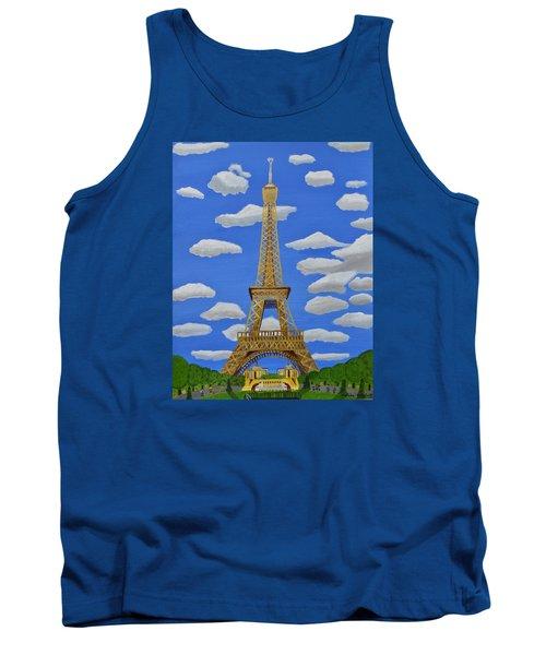 The Eiffel Tower  Tank Top