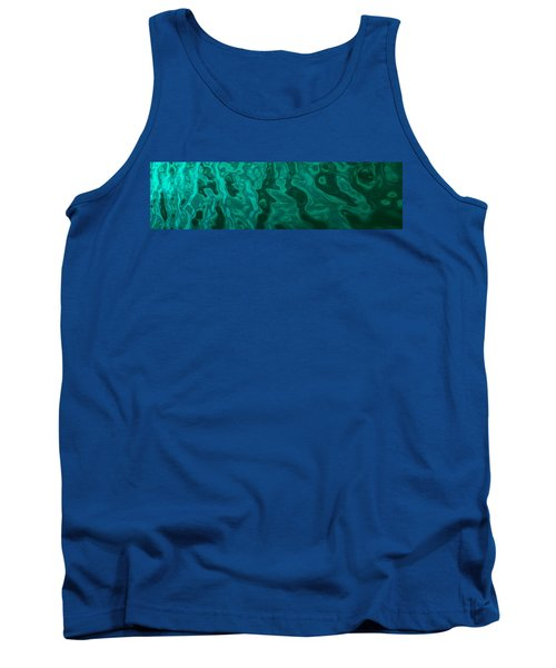 The Emerald Wave Tank Top