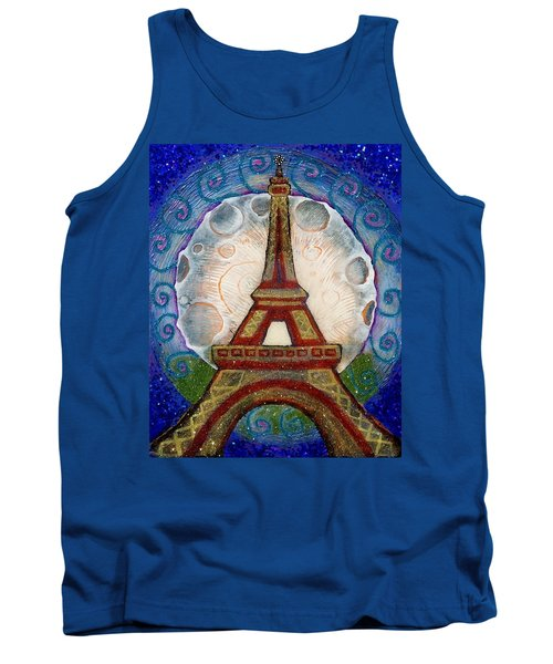 The Evening Of A Ready-wish Upon A Parisian High Point Tank Top