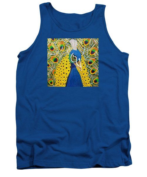 The Eye Of The Peacock Tank Top