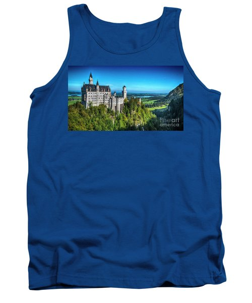The Fairy Tale Castle Tank Top by Pravine Chester