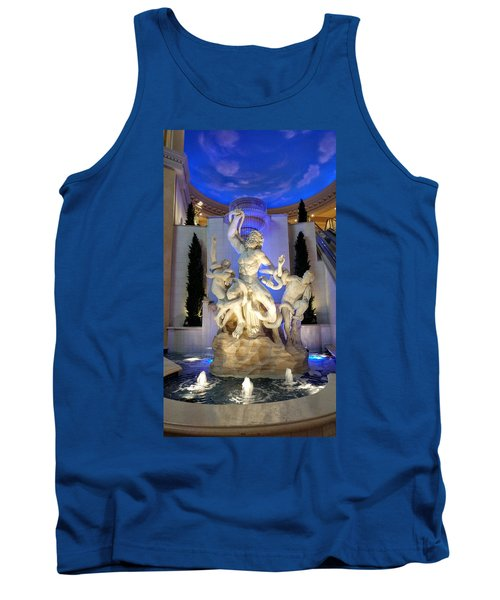 The Forum Shop Statues At Ceasars Palace Tank Top