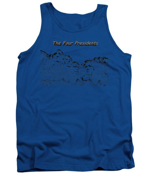 The Four Presidents 2 Tank Top