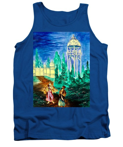 The Garden Of Pictures Tank Top