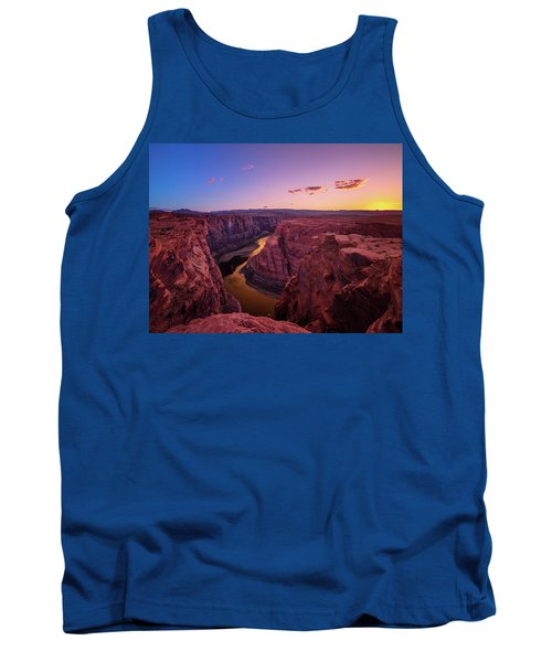 Tank Top featuring the photograph The Golden Canyon by Edgars Erglis